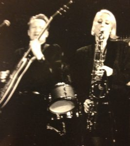 Gäst med Sven Zetterberg och Chicago Express ca 1988